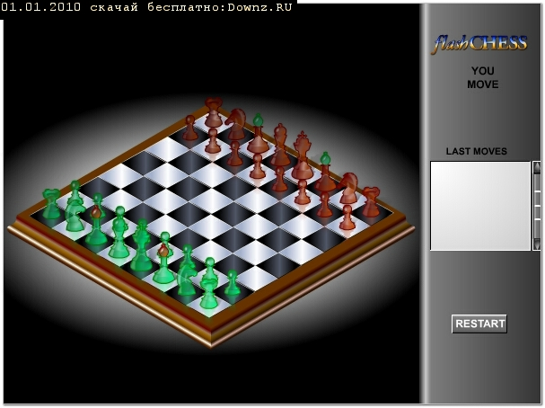 ��������� ������� ������� ������ ���������� ������� ���� Flash Chess 3D Game